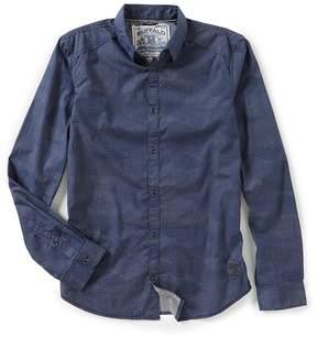 Buffalo David Bitton Sadern Long-Sleeve Printed Camo Shirt