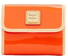 Dooney & Bourke Patent Small Flap Wallet - CLEMENTINE - STYLE