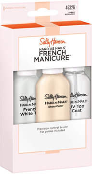 Sally Hansen Hard as Nails French Manicure in Sheer Romance