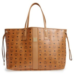 MCM 'Large Liz' Reversible Shopper - Brown