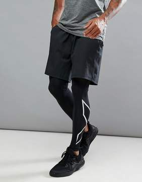 2XU Training Urban Short In Black MR4203B-BLK