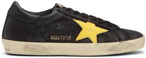 Golden Goose Deluxe Brand Black Superstar Sneakers