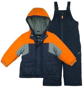 Osh Kosh Baby Boy Heavy Weight Colorblock Snowsuit