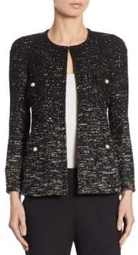 Edward Achour Tweed Ombre Jacket