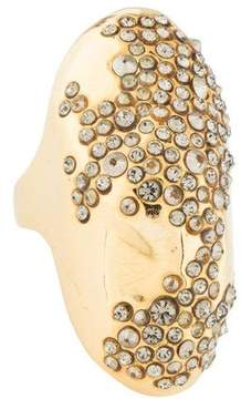 Alexis Bittar Crystal Cocktail Ring