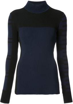 Barbara Bui ribbed patterned sweater