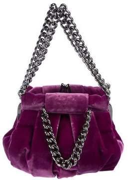 Christian Louboutin Velvet Loubinette Bag