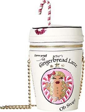 Betsey Johnson Gingerbread Latte Bag