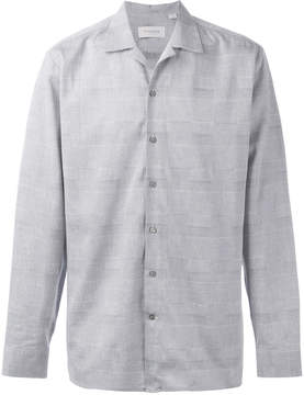 Hardy Amies checked shirt