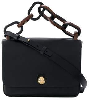 Sophie Hulme Women's Black Leather Handbag.