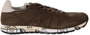 Premiata Brown Suede Eric Sneakers
