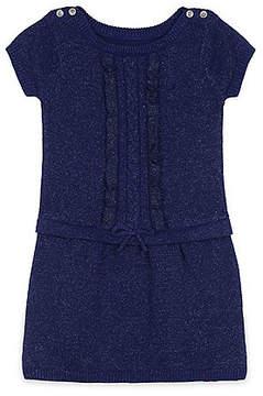 Nautica Little Girls' Cable Ruffle Dress (4-7)