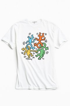 Junk Food Clothing Keith Haring Equality Tee