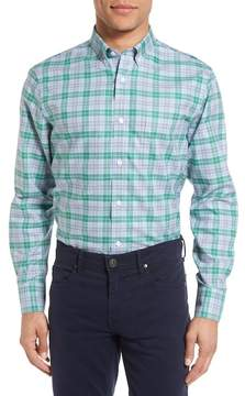 Nordstrom Smartcare(TM) Regular Fit Plaid Sport Shirt (Regular, Big & Tall)