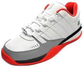 K-Swiss Baxter Men Round Toe Leather Sneakers.