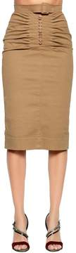 N°21 Stretch Gabardine Pencil Skirt
