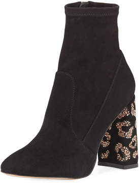 Sophia Webster Sam 110mm Embellished-Heel Boot