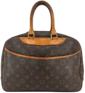 Louis Vuitton Deauville cloth satchel - OTHER - STYLE