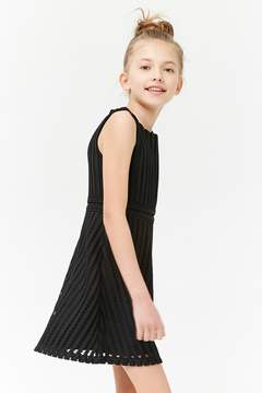 Forever 21 Girls Crochet Dress (Kids)