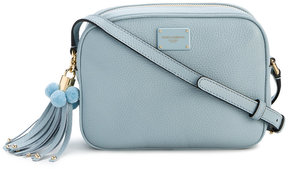 Dolce & Gabbana Small Blue Glam Bag - BLUE - STYLE