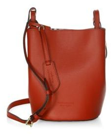 Burberry Lorne Leather Hobo Bag - POPPY - STYLE