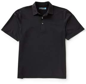 Roundtree & Yorke Performance Short-Sleeve Solid Pique Polo