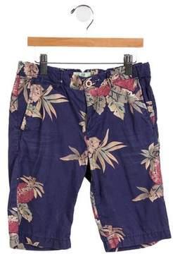Scotch Shrunk Boys' Printed Knee-Length Shorts
