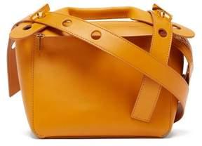 Sophie Hulme Bolt Small Soft Saddle Bag - Womens - Brown