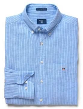 Gant Men's Light Blue Linen Shirt.