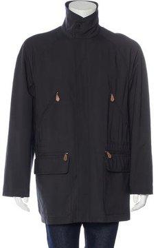 Hermes Woven Utility Coat
