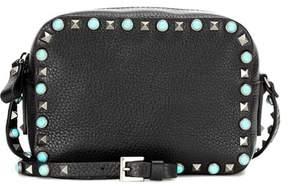 Valentino Rockstud Rolling leather crossbody bag