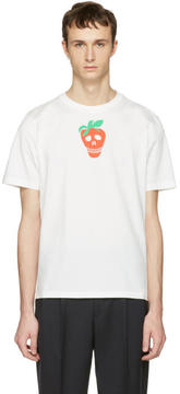 Paul Smith White Strawberry Skull T-Shirt