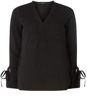 Vero Moda **Vero Moda Black Tie Sleeve Blouse