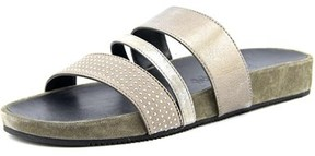 Paul Green Delight Women Open Toe Leather Slides Sandal.