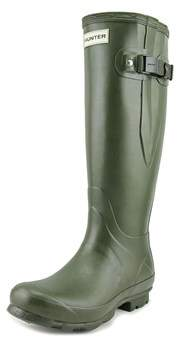 Hunter Norris Field Side Adjustable Women Round Toe Synthetic Rain Boot.