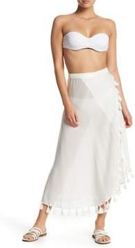 Red Carter Wrap Skirt