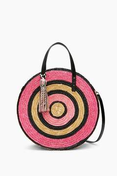Rebecca Minkoff Straw Circle Tote - ONE COLOR - STYLE