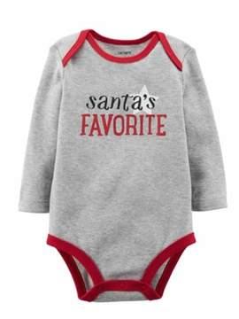 Carter's Baby Boys Santa's Favorite Bodysuit