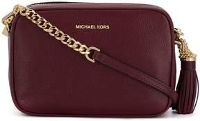 MICHAEL Michael Kors Ginny Leather Camera Bag
