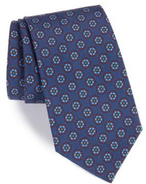 Michael Bastian Men's Floral Medallion Silk Tie