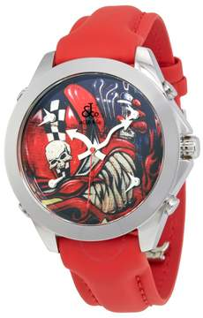 Jacob & co Jacob and Co Five Time Zone Graffiti Collection Men's Watch