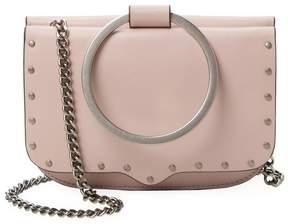 Rebecca Minkoff Women's Leather Ring Crossbody Bag - PINK - STYLE