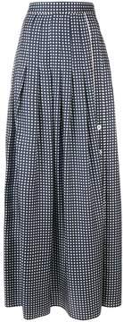 Mantu polka dot pleated skirt