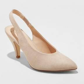 Target High Vamp Heeled Pumps