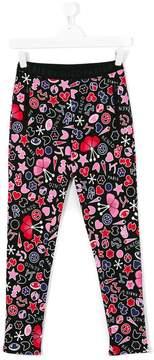 Kenzo graphic print leggings