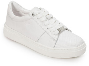 Foot Petals White Fallon Leather Sneaker - Women