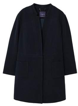 Violeta BY MANGO Pocketed wool coat
