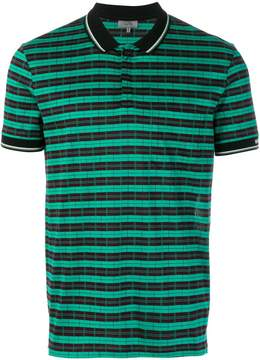 Lanvin two-tone polo shirt