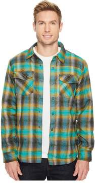 Prana Asylum Heavyweight Flannel Men's Long Sleeve Button Up