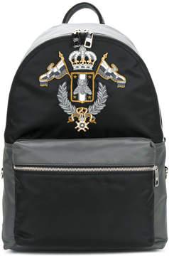 Dolce & Gabbana crown logo backpack